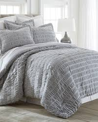 Grey Quilted Comforter Villa Lugano Featured Brands Bed U0026 Bath Stein Mart
