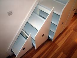 Small Space Stairs - decoration storage almirah designs small staircase solutions