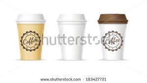 plastic coffee cup vectors download free vector art stock