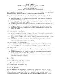 federal service help desk resume help desk analyst resume underwriting credit support help