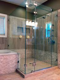 showers doors glass free standing glass shower stall wonderful home design