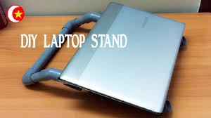 Laptop Stands For Desk by How To Make A Laptop Stand For Desk With Pvc Pipe 2 Creative