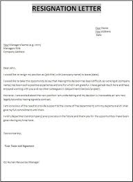 What To Say At Resignation Letter Complete What To Say In A Resignation Letter