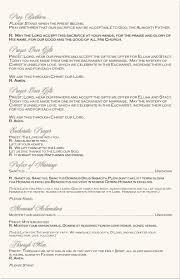 program for catholic wedding mass bintou s wedding invitation template wedding invitation