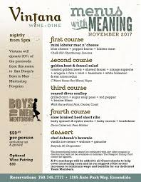 corvette diner coupon menus with meaning at crg dine donate at vintana cohn