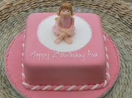 Angel Decorated Cake Angel 2nd Birthday Cake By Cakes Of Distinction Cork Ireland