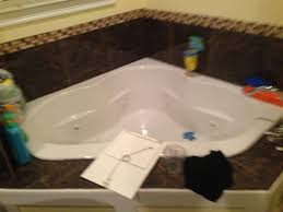leaking pipe in the jacuzzi bathroom