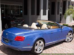 bentley convertible blue 2012 bentley continental gt gtc