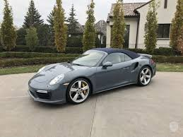 porsche s cabriolet 2017 porsche 911 turbo s in minneapolis mn united states for sale