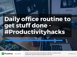 19 productivity hacks to get stuff done