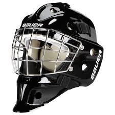 plain mask bauer nme 4 junior goalie mask plain puckstop