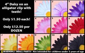 Flower Clips For Hair - wholesale prices on flower hats flower headbands and flower clips