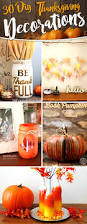 how to decorate a pumpkin for thanksgiving 30 diy thanksgiving decoration ideas to setup a fall inspired home