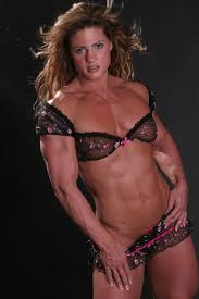 muscle woman    d model max obj fbx mtl
