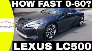 lexus lc500h fuel economy 2018 lexus lc500 0 60 acceleration test exhaust sound how fast