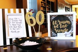 60th birthday party ideas black and white birthday party black white and gold birthday party