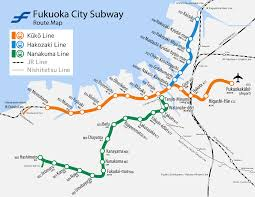 Osaka Subway Map by Fukuoka City Subway Wikipedia