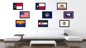nebraska state flag home decor office wall art livingroom interior
