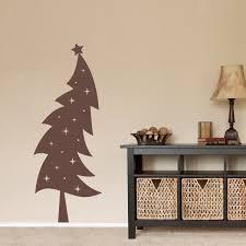 christmas tree decal holiday wall decor xmas wall decal details the christmas tree decal