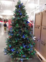 ge 9 ft prelit led tree costco tree lights