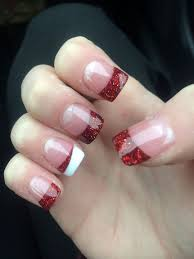 best 25 christmas acrylic nails ideas on pinterest pretty nails