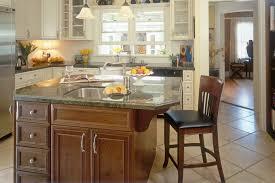 kitchen cabinets island custom contemporary kitchen cabinets alder wood java finish shaker