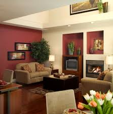 Burgundy Living Room by Popular House Paint Colors For 2014 Open Shelves Wood Burning
