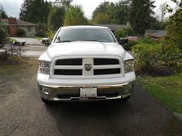 Dodge Ram Colors - converting from chrome to color matched bumpers grill dodge ram