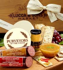 cheese gift sons sausage cheese gift box