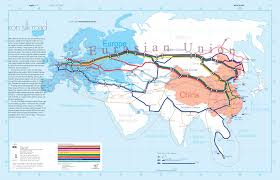 Europe And Russia Map by The Iron Silk Road Connecting Europe And China Europe