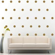 online get cheap gold circle stickers aliexpress com alibaba group d529 set of 33 gold polka dot circle wall decal vinyl sticker pattern decor china