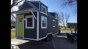 the wanigan tiny house 250 sq ft built by burrow tiny homes