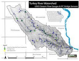 Volga River Map Bridge Sensors Installed In Turkey River Watershed U2013 Turkeyriver Org