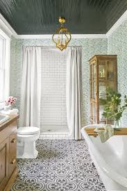 Pink Tile Bathroom 100 Green Tile Bathroom Ideas Sliced Green White Pebble