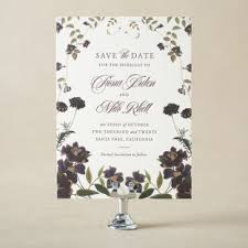 letterpress foil sted save the dates from figura
