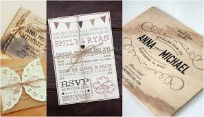 rustic wedding invitation 18 gorgeous rustic wedding invitations