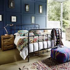 Metal Vintage Bed Frame Keeler Bed Frame Occasional Tables Dining Room Barker