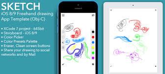 buy sketch full freehand drawing app iad admob family for ios