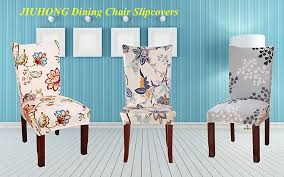 turquoise chair slipcover amazon com jiuhong stretch removable washable dining chair