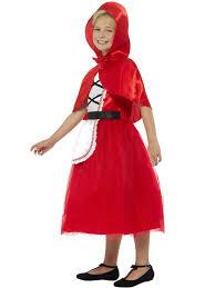 red riding hood halloween costumes girls deluxe little red riding hood costume world book day book