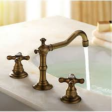 Vintage Sink Faucet Vintage Antique Style Basin Mixer Tap Vessel Bathroom Sink Faucet