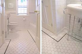 Bathroom Floor Tile - agreeable vintage hexagon bathroom tile with additional interior