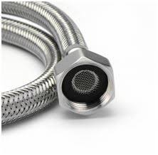 Kitchen Faucet Water Supply Lines Stainless Steel Braided Hose Pipe Tube For Kitchen Basin Mixer Tap