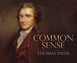 common sense thomas paine qarie marshall 9781633798939 amazon