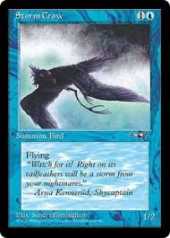 Storm Crow Meme - storm crow magic card
