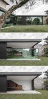 Glass Walls by This Italian Villa Has Glass Walls That Disappear Into The Floor