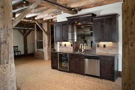 Kitchen Cabinet Frame by Mullet Cabinet U2014 Timber Frame Basement Bar