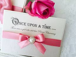 save the date wedding cards fairytale quotes pretty save the date cards with pink ribbon bow