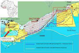 Ivory Coast Map Ghana Oil Crossed Crocodiles