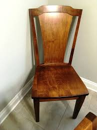 dining chairs solid maple dining room chairs ethan allen maple